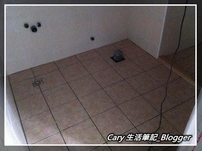 富爸爸財務自由實踐之路(10)廁所地磚完工
