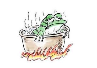 被套牢的股票VS溫水煮青蛙